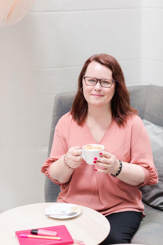 Jenny Sandfors, webbutvecklare