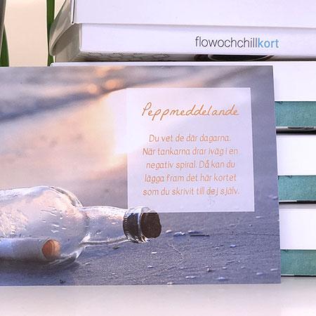 Flowochchillkort - Peppa dej själv