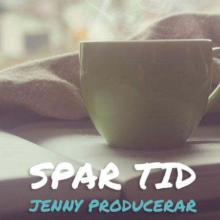 Spar tid - Jenny producerar din hemsida i WordPress