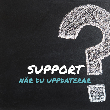 Supportpaket Basic Hemsidesupport WordPress